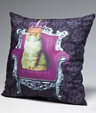 Katzen Kissen Royal Cat Sofakissen Geschenk Dekokissen Katze Kätzchen Kitten