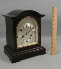 Antique JUNGHANS B20 German Mahogany Bracket Clock w/ Pendulum & Key, NR