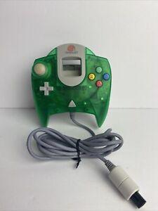 Official Sega Dreamcast Translucent Green HKT-7700 OEM Controller - Tested