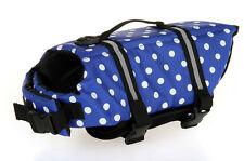 NEW Pet Safety Vest Dog Life Jacket Preserver Puppy XS - XL Large Swimming wear