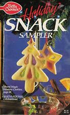 HOLIDAY SNACK SAMPLER VINTAGE BETTY CROCKER COOKBOOK 1988 #32 GUMDROP BREAD MORE