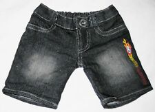 """Black 6"""" Jean Pants with Olympic Flame Decor Doll Clothes"""