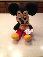 Vintage 1970's Mickey Mouse California Stuffed Toys