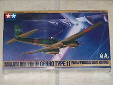 "Maquette TAMIYA 1/48ème NAKAJIMA NIGHT FIGHTER GEKKO TYPE 11 ""IRVING"""