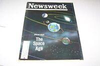 OCT 8 1962 NEWSWEEK magazine SPACE AGE