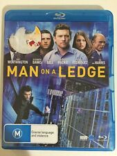 Man On A Ledge - Blu-Ray - Sam Worthington - Ed Harris - Elizabeth Banks - M