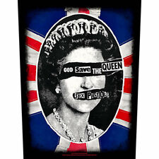 SEX PISTOLS Back Patch Toppa Gigante God Save The Queen OFFICIAL MERCHANDISE