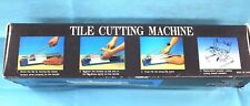 Tile Cutting Machine: Manual, Exchangable parts. 300mm cutting length