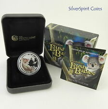 2011 BUSH BABIES KOALA Silver Proof Coin