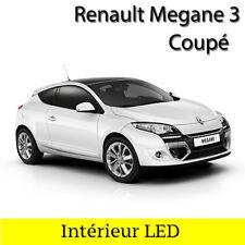 Kit éclairage ampoules à LED Blanc intérieur pour Renault Megane 3 coupé