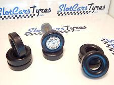 8  URETHANE tyres super 1/24 Alfa- Jaguar  SCALEXTRIC - Au