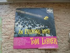 Tom Lehrer An Evening Wasted With Tom Lehrer Decca Records LK 4332 Made In U.K.