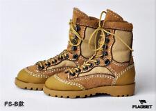 1/6 Scale Male Combat Shoes Boots FS01B Hollow F 12'' Action Figure
