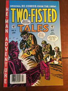 TWO-FISTED TALES # 2 RUSS COCHRAN 1993 EC COMICS REPRINT