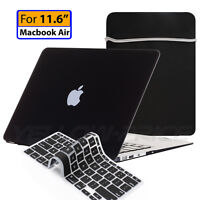 Soft Touch case keyboard cover Sleeve Bag Notebook Bag For Macbook Air 11 11.6''