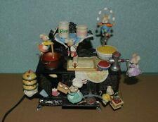Enesco Spieluhr Spieldose Backofen Mäuse Bäckerei