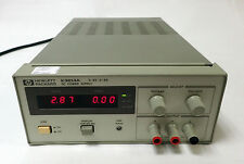HP / AGILENT E3614A DC POWER SUPPLY 48W, 0-8V, 0-6A .TESTED AND WORKING