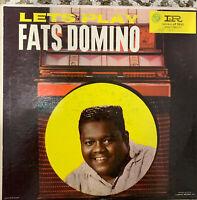 Fats Domino Let's Play Mono Imperial DG Original Pressing