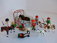 Playmobil Stable, Horses, Riders and Loads of Accessories