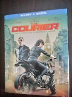 The Courier BLU-RAY. W/SLIPCOVER Olga Kurylenko 2019