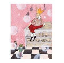 "IKEA Art Print BILD Poster""CURLY""Juvenille Nursery Decor Retired Whimsical NEW"