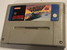 F-Zero Reino Unido PAL SNES Super NES Cartucho De Juego