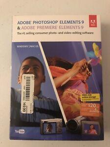 Adobe PHOTOSHOP ELEMENTS 9 & PREMIERE ELEMENTS 9 for Mac