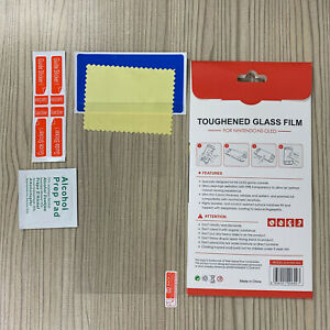 For Switch OLED Tempered Glass Screen Protector Film Gaming System Accessories