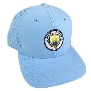 Manchester City Soccer Light Blue Nike Adjustable Cap Hat