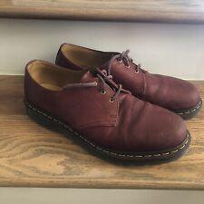Mens Dr Martens 1461 Oxblood Hardlife Leather 3 Eye Oxfords Shoes Us 12 M