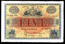 The Union Bank Of Scotland Limited: Five pounds, 20-10-1942, E 302/055, (Bank...