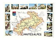 CPSM 05 Hautes-Alpes Carte géographique