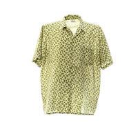 Kurzarmhemd Herren Größe XL Paisleymuster Print Freizeit Shirt