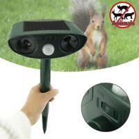 Ultrasonic Solar Power Pest Repeller Animal Repellent Garden Cat Dog Scarer JL