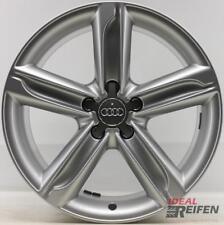 4 Original Audi Tt TTS 8J 18 Inch Alloy Rims 8J0601025AT S-LINE 9x18 ET52 S