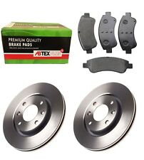 FRONT BRAKE DISCS AND BRAKE PADS FITS PEUGEOT 1007 207 208  307 2008