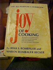 1977 Cookbook JOY OF COOKING by ROMBAUER,  7th Printing w/ DJ, #58770