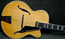 "PEERLESS Blonde MONARCH 17"" JAZZ Electric Archtop Guitar floating pickup"