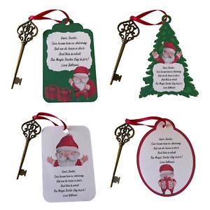 Personalised Santa's Magic Key Christmas Eve Box Filler Christmas Keepsafe