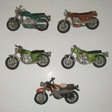 Vintage Lot of Motorcycles Bikes Kawasaki 750 Ss Yamaha Tx750 Commando Diecast