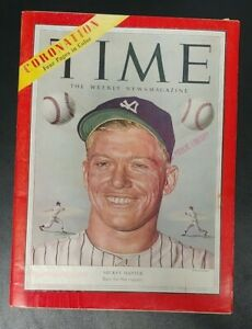 """1953 Mickey Mantle Time Magazine """"Born For The Majors"""" Vintage"""