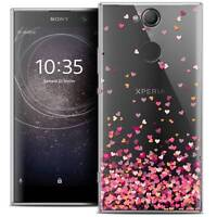 "Coque Crystal Gel Pour Sony Xperia XA2 (5.2"") Souple Sweetie Heart Flakes"
