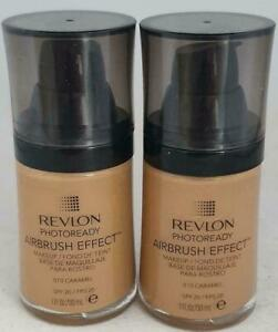 2 x Revlon Photoready Caramel Airbrush Effect Makeup, 30 ml