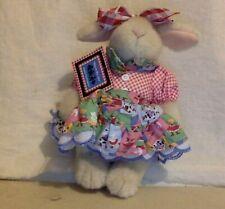 "VanderHare Stuffed Rabbit. Square Dancing ""Skip to My LuLu"" Original Tag."