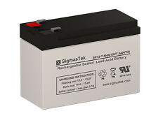 12V 7.5AH (F2) SLA Battery For Universal Power UB1280-F2 (D5779) Battery