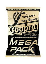 TURBO YEAST COOBRA MEGA PACK 100L 18% 4-6 DAYS HEFE DROŻDŻE