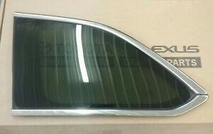 2014 - 2019 Toyota Highlander Quarter window Glass Rear LH 627200E150