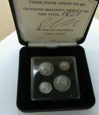 More details for george iv maundy money 1822 - 1830 laurel head ref spink 3816 boxed with cert