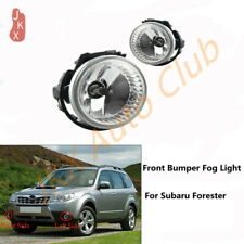 LH&RH Fog Lights Front Bumper Lamps Replacement k For Subaru Forester 2009-13
