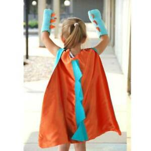 2022 Halloween Dinosaur Cloak Party Children Temporary Dress Up Costume HOT